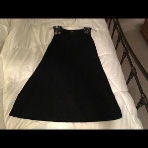 Express size M black knit dress excellent